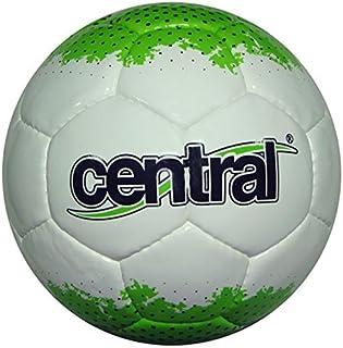 Central cuir synthétique MATCH & entraînement qualité Futsal boule blanc/VERT TAILLE 3/4