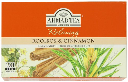 UPC 054881100014, Ahmad Tea Rooibos & Cinnamon Infusion, 20-Count Tea Bags (Pack of 6)