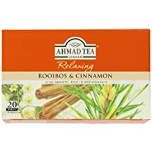 Ahmad Tea - Rooibos & Cinnamon Tea Infusion 20 Bags - 40g (Case of 6)