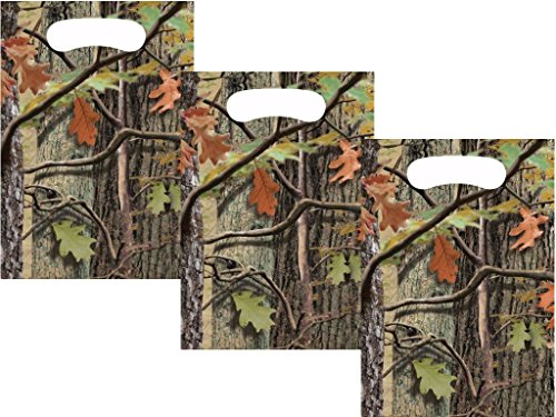 Wilderness Deer - Hunting Camo Boys Birthday Favor Bags 24 Guests