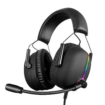 Hell Crack V11 - Auriculares de Diadema con micrófono para PS4 ...