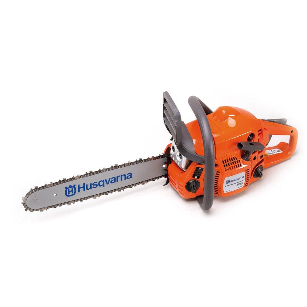 Husqvarna 435 16-Inch 40.9cc 2 Stroke Gas Powered Chain Saw Certified Refurbished