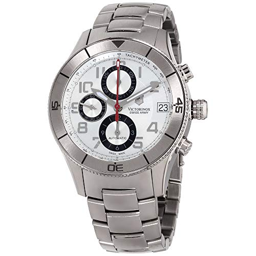 Victorinox Swiss Army Men's 'SSC' Swiss Automatic Stainless Steel Sport Watch, Color:Silver-Toned (Model: 241191)