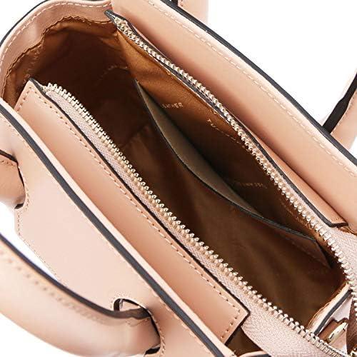 Tuscany Leather Brigid Leather Mini Bag Ballet Pink