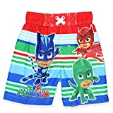PJ Masks Boys Swim Trunks and Rash Guard Set