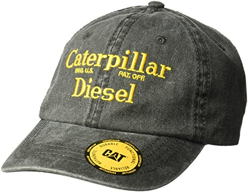 Caterpillar Men's Fairview Flat Bill Cap, White, One Size