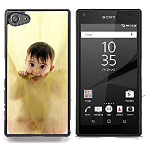 - Anne geddes cute baby/ Hard Snap On Cell Phone Case Cover - Cao - For Sony Xperia Z5 compact / mini