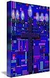 Wall Art Print entitled Menorah Cross by Douglas Christian Larsen | 33 x 48