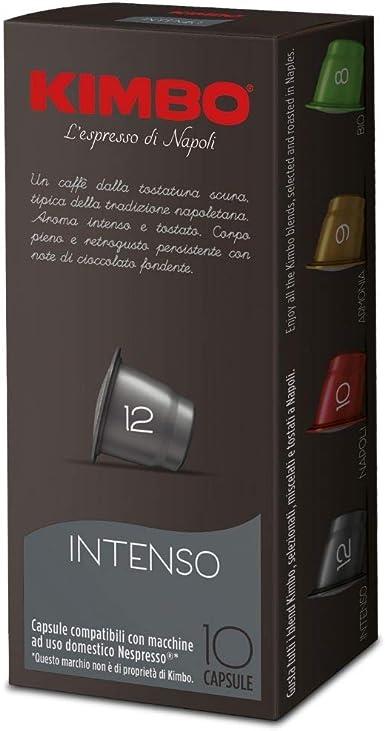Cápsulas compatibles con cafeteras Nespresso®* (Intenso) 100 caps
