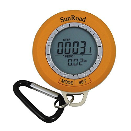 Go Out Camping Sunroad Sr108s Mini LCD Digital Camping Hiking Pedometer Altimeter Barometer Compass Thermometer Weather Forecast Time - Need Do What Glasses I Size