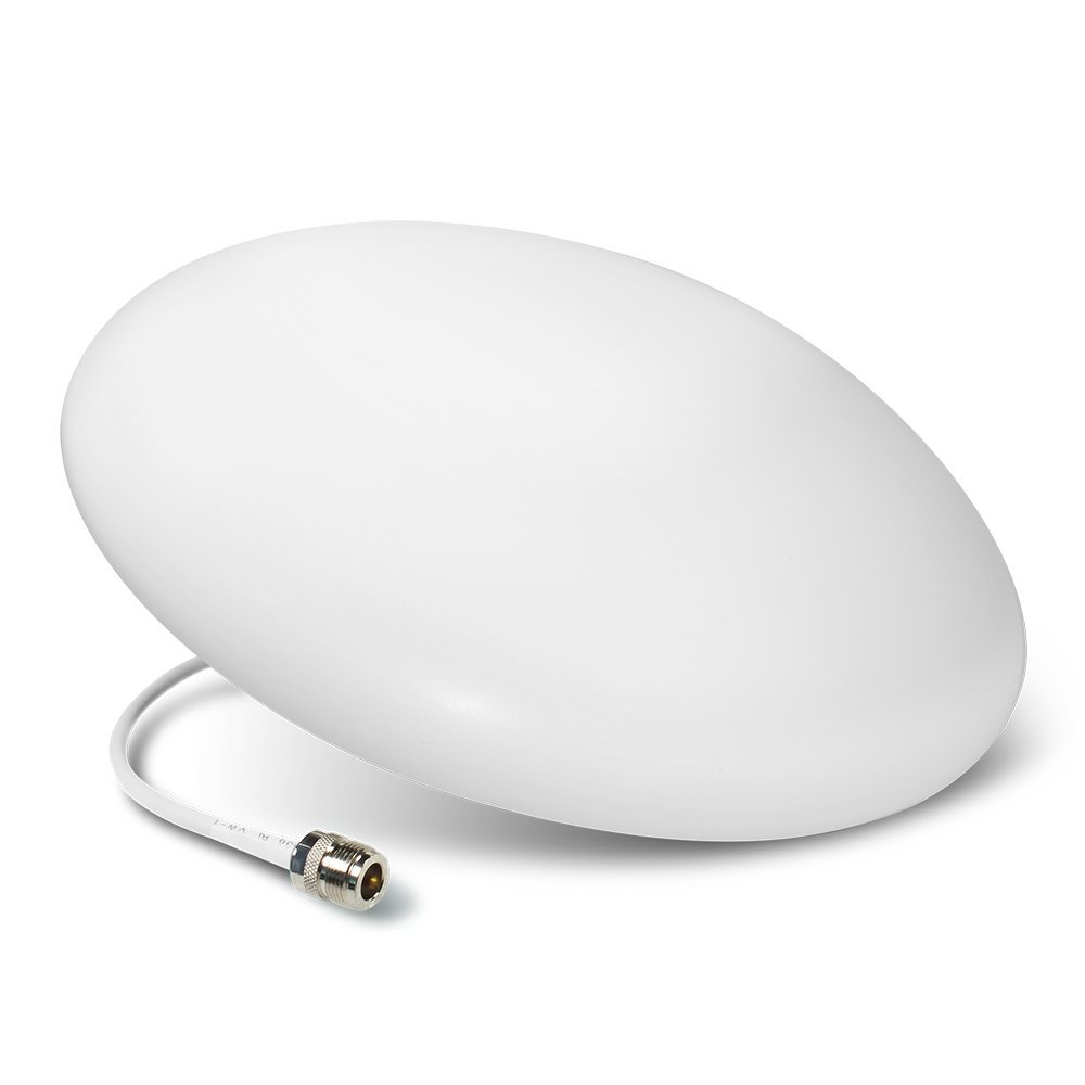 SureCall Ultra Thin Omni-Directional Indoor Ceiling-Mount Dome Antenna with N-Female Connector