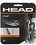 HEAD FXP Natural Colored Multifilament Tennis Racquet String Sets – 16/17 Gauges – in Multi-Packs – Best for Control and Comfort (2-4-6-8-Packs)