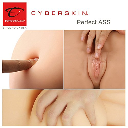 CyberSkin M S-ex Doll Adult Toy for Men Male Holiday Decor (Vaginal Anus)/Bounce Personal Lube by CyberSkin