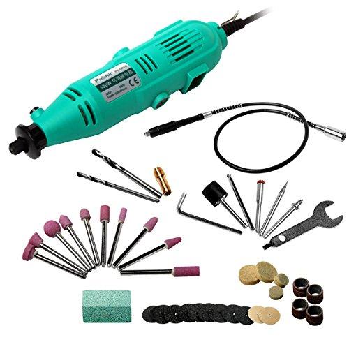 Pro'sKit PT-5501I Variable Speed Rotary Tool Kit (230V) for Cutting Sanding Polishing Drilling Mini Grinder Grinding Machine