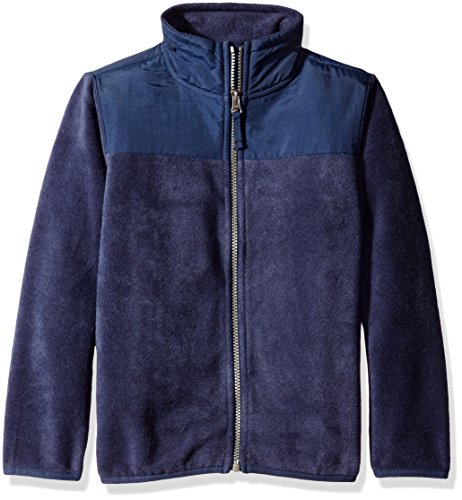 The Children's Place Little Boys' Basic Fleece Trail Jacket, Tidal, Small/5/6 by The Children's Place (Image #1)