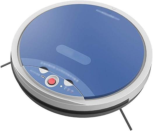HUOLEO Inteligente Sin Cable Voz Robot Aspirador, Barriendo El Piso Robot Máquina De Limpieza Robots Aspiradores por Hogar Regalo-Azul: Amazon.es: Hogar
