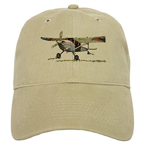 CafePress - Cessna 180 Baseball Cap - Baseball Cap with Adjustable Closure, Unique Printed Baseball Hat (180 Baseball)