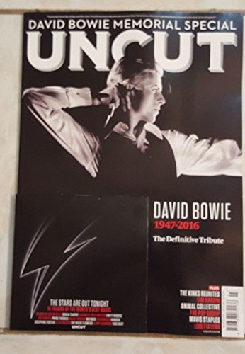Uncut Magazine UK March 2016 David Bowie Memorial Special 1947 - 2016, The Definitive Tribute + CD