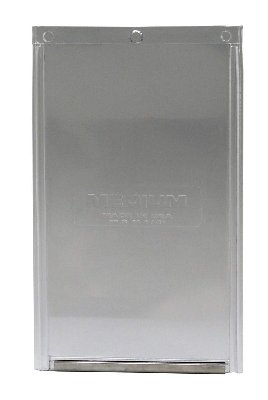 Pet Door Old Style 7 in. x 11.25 in. Medium Vinyl Replacement Flap For Plastic Frame by Ideal Pet