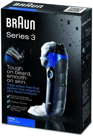 Braun Series 3 340 Wet & Dry - Afeitadora, sistema de triple ...