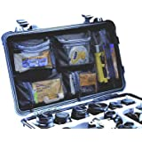 Organizer avec couvercle Peli pour valise Flightcase 1510 boite accessoires