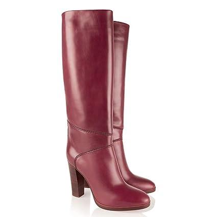 Overknee Stiefel Damen Stiefel mit hohem Absatz Overknee