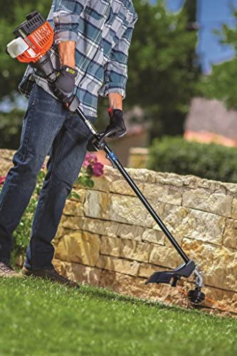 Remington RM2560 Rustler 25cc 16-Inch Gas Powered String Trimmer-2-Cycle-Lightweight-Straight Shaft, 17