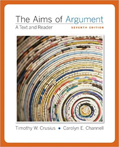Aims of argument mla 2016 update 8th edition | ebay.