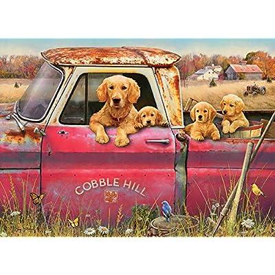 Cobblehill 80116 1000 pc Cobble Hill Farm Puzzle, Various: Toys & Games