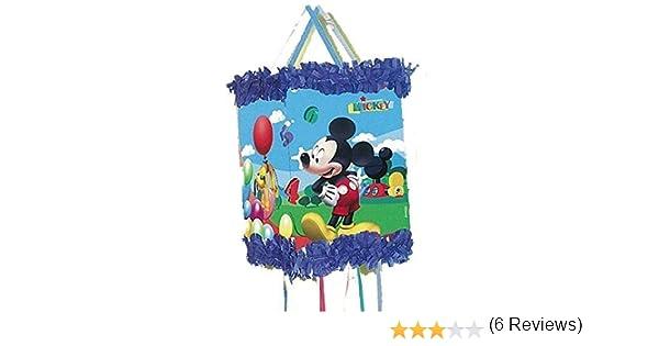 Verbetena 014000285 Mickey Mouse - Piñata Viñeta para cumpleaños y celebraciones, Clubhouse balones: Amazon.es: Juguetes y juegos