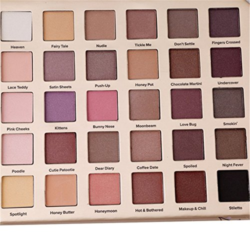 Determ Professional 30 Colors Eyeshadow Palette Makeup Contouring Kit for Salon and Daily Use