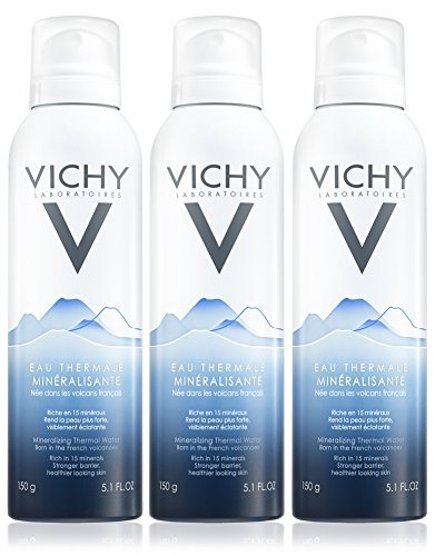 Vichy Mineralizing Thermal Water, 5.1 Fl. Oz. (Pack of 3) (Best Thermal Spring Water Spray)