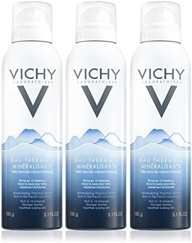 Vichy Mineralizing Thermal Water, 5.1 Fl. Oz. (Pack of 3)