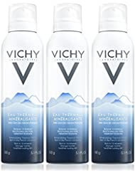Vichy Mineralizing Thermal Water Spray from French Volcanoes, 3-Pack, 5.1 Fl. Oz.