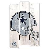 "NFL Dallas Cowboys Wood Fence Sign, 11"" x 17"""