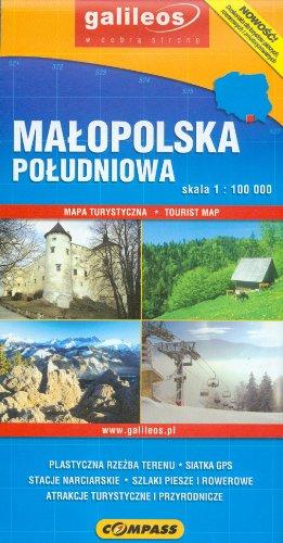 Malopolska poludniowa Mapa turystyczna 1: 100 000 Malopolska poludniowa Mapa turystyczna 1: 100 000