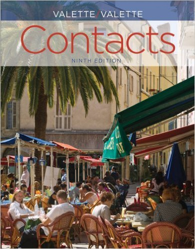 Bundle: Contacts: Langue et culture françaises. 9th + iLrnTM Heinle Learning Center, 4 terms (24 months) Printed Access