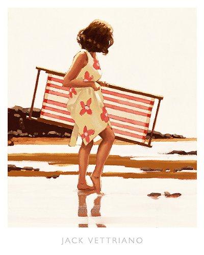 (Sweet Bird of Youth (study) Jack Vettriano Romance Print Poster 15.75x19.75)