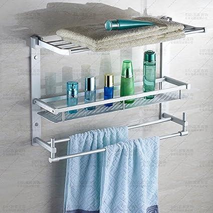 Accesorios de Baño MoomQe fácilmente para montar una buena decoración efecto Tri-doblado de toallas