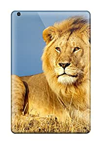Richard V. Leslie's Shop 9234459J86860880 Case Cover Protector Specially Made For Ipad Mini 2 African Lion King
