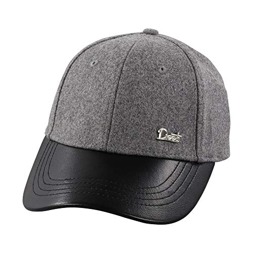 Deets Fashion Leather & Cashmere Baseball Cap Unisex for Men and Women Comfortable Luxury - Cap Baseball Cashmere