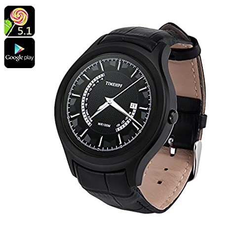 Amazon.com: No. 1 D5 + Android Smart Watch – 1.3 inch ...