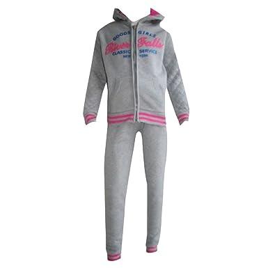 Fashion – Chándal para niño niña New York gris tamaño de 4 a 12 ...