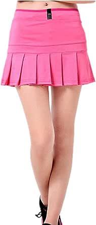Women's Tennis Skorts Athletic Lightweight Running Skirt with Shorts Inner