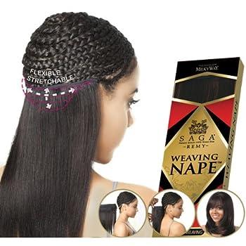 "SAGA Remi Human Hair Weave Nape 12""-14"" - NP4/30"