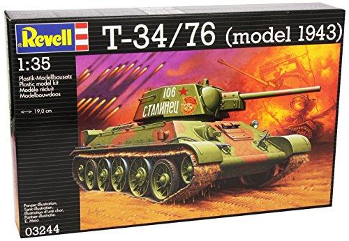 Revell - 03244 - T-34/76 - 183 Pièces - Echelle 1/35