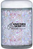 Fine Unicorn Skin, Biodegradable Glitter, All Natural, Highly Concentrated Glitter Gel for Hair, Body, Beard & Face (Full Body Fantasy)
