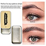 Ownest 2PCS Eyebrow Soap Kit,Brows Styling