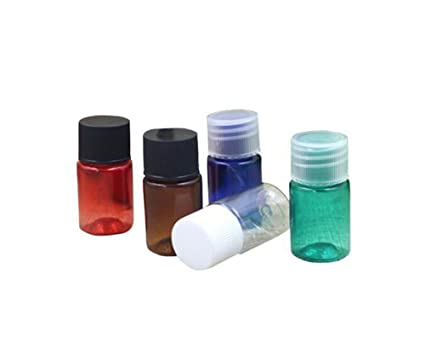 12pcs 5 ml Mini recargable Pet Plástico Botella De Aceite Esencial/frascos/recipiente con