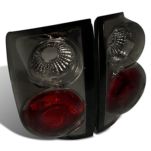 Spec-D Tuning LT-S1094G-TM Chevy S10 Ls Ss Zr2/ GMC Sonoma Sl Sle Sls Smoked Altezza Tail Lights